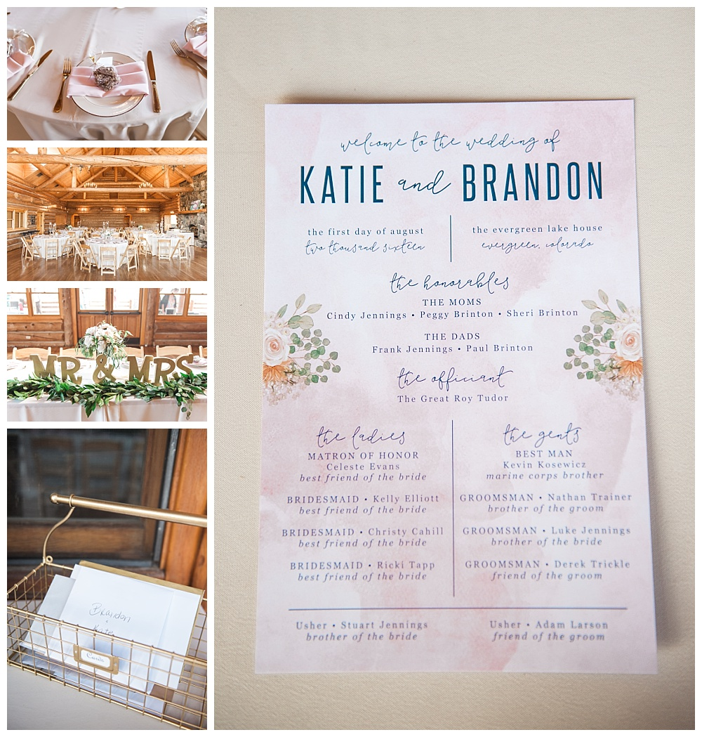 Stephanie Marie Photography Evergreen Lakehouse Colorado Iowa City Destination Wedding Photographer Katie Brandon 35