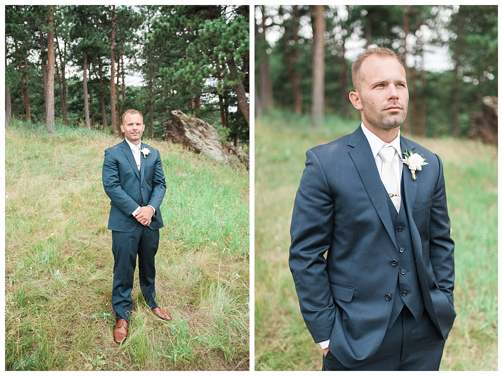 Stephanie Marie Photography Evergreen Lakehouse Colorado Iowa City Destination Wedding Photographer Katie Brandon 37