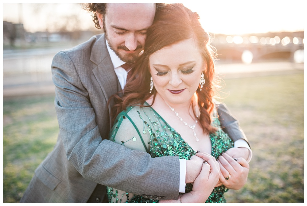 Stephanie Marie Photography Eastbank Venue and Lounge Cedar Rapids Iowa City Wedding Photographer Pete Leslie Akers 1