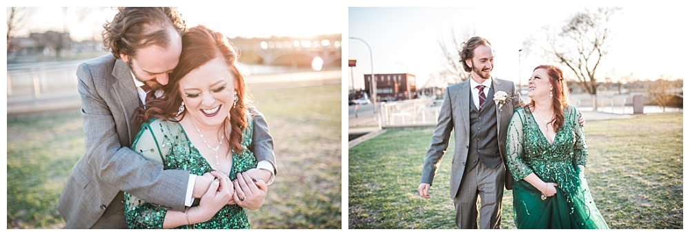 Stephanie Marie Photography Eastbank Venue and Lounge Cedar Rapids Iowa City Wedding Photographer Pete Leslie Akers 82