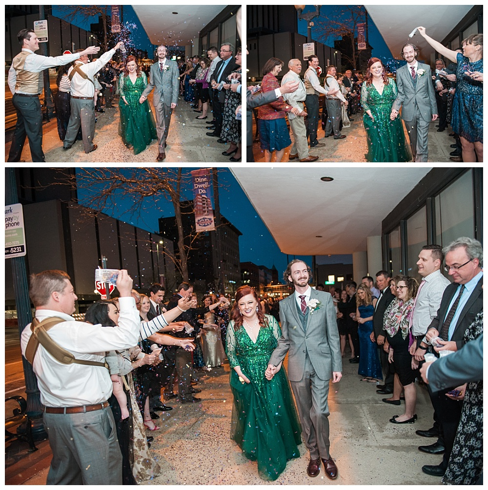 Stephanie Marie Photography Eastbank Venue and Lounge Cedar Rapids Iowa City Wedding Photographer Pete Leslie Akers 89