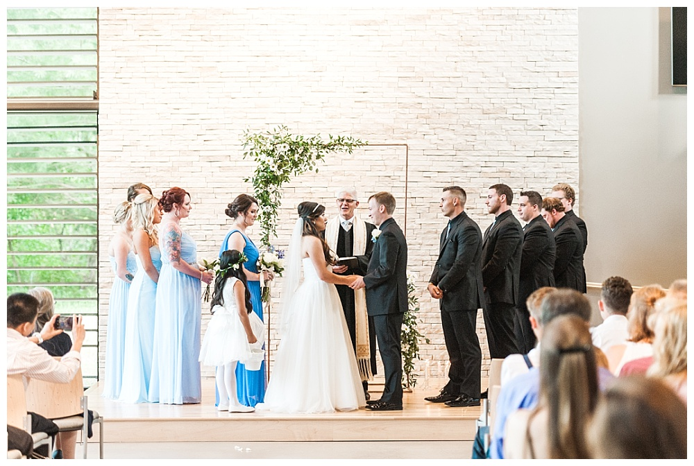Stephanie Marie Photography Unitarian Universalist Church Coralville Iowa City Wedding Photographer Terrance Brenna 24