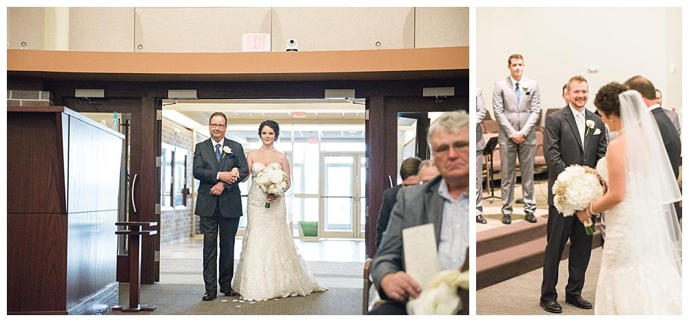 Stephanie Marie Photography Echo Hill Presbyterian Church Marriott Cedar Rapids Iowa City Wedding Photographer Tom Meghan 10