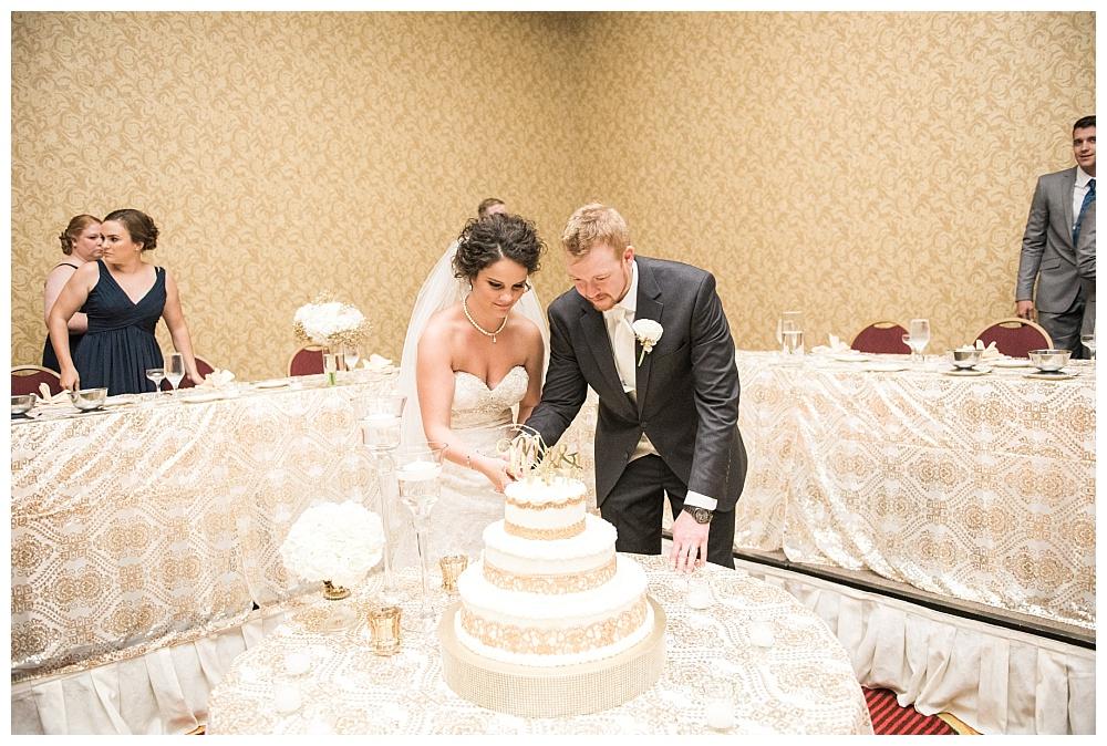 Stephanie Marie Photography Echo Hill Presbyterian Church Marriott Cedar Rapids Iowa City Wedding Photographer Tom Meghan 19