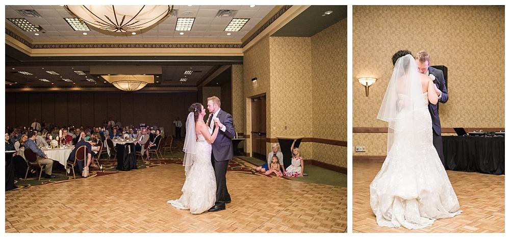 Stephanie Marie Photography Echo Hill Presbyterian Church Marriott Cedar Rapids Iowa City Wedding Photographer Tom Meghan 20