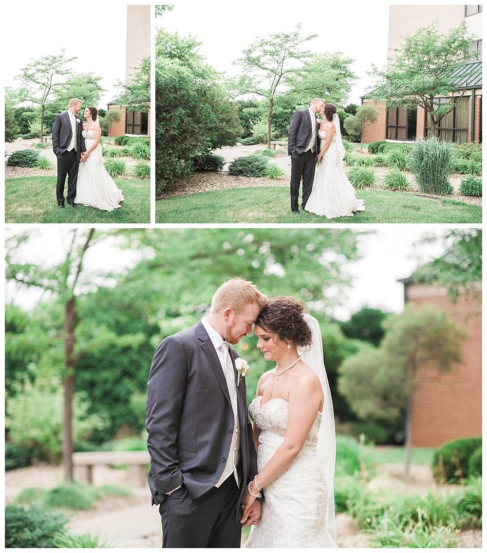 Stephanie Marie Photography Echo Hill Presbyterian Church Marriott Cedar Rapids Iowa City Wedding Photographer Tom Meghan 18