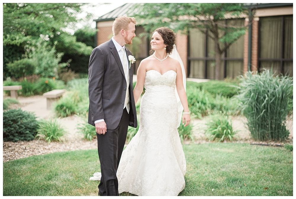 Stephanie Marie Photography Echo Hill Presbyterian Church Marriott Cedar Rapids Iowa City Wedding Photographer Tom Meghan 21