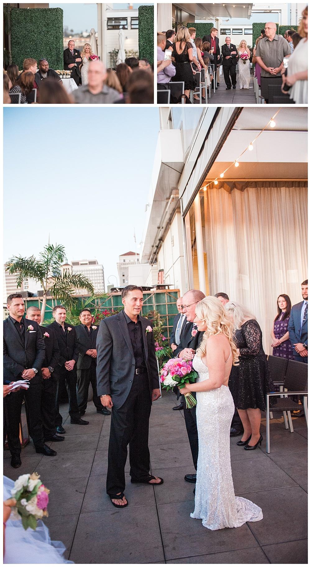 Stephanie Marie Photography Andaz Hotel San Diego California Iowa City Wedding Photographer Matt Andrea 10