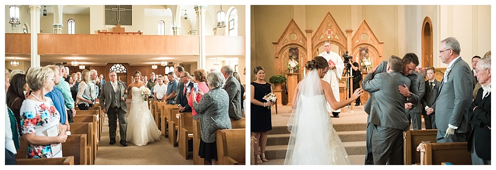 Stephanie Marie Photography Corpus Christi Catholic Church Fort Dodge Iowa City Wedding Photographer Joe Ashley 20