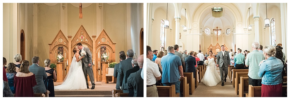 Stephanie Marie Photography Corpus Christi Catholic Church Fort Dodge Iowa City Wedding Photographer Joe Ashley 21