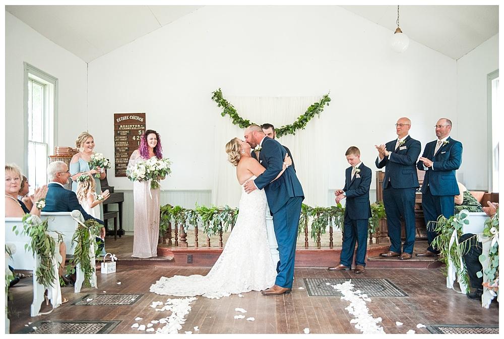Stephanie Marie Photography Woodbury County Fair Church Moville Iowa City Wedding Photographer Katie Kurt 24