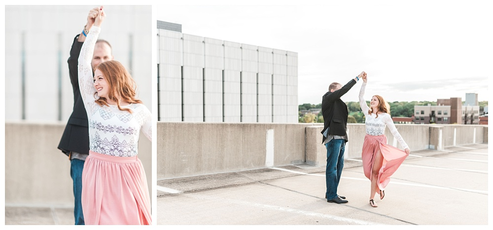 Stephanie Marie Photography Kinnick Stadium Engagement Session Iowa City Wedding Photographer Emily Brian_0010.jpg