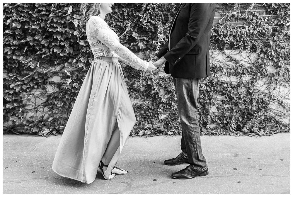 Stephanie Marie Photography Kinnick Stadium Engagement Session Iowa City Wedding Photographer Emily Brian_0021.jpg