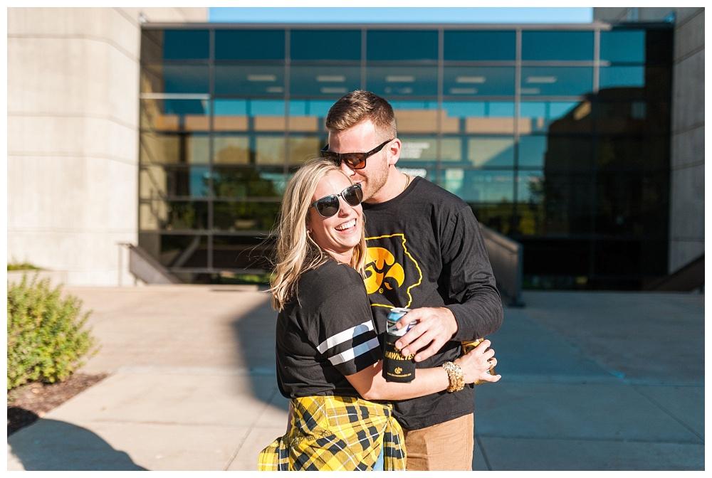 Stephanie Marie Photography Lake Tailgate Engagement Session Iowa City Wedding Photographer Emily Jake_0003.jpg