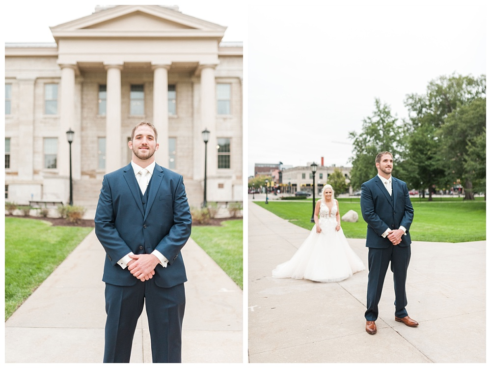 Stephanie Marie Photography Saint Marys Catholic Church Bella Sala Wedding Iowa City Tiffin Wedding Photographer Alex Bobby Telford_0014.jpg