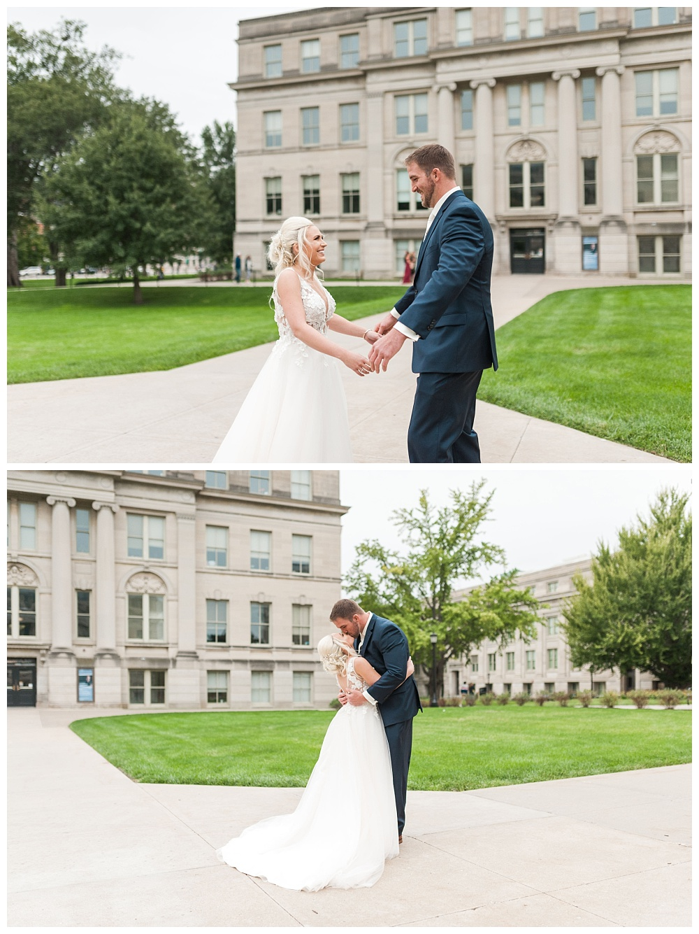 Stephanie Marie Photography Saint Marys Catholic Church Bella Sala Wedding Iowa City Tiffin Wedding Photographer Alex Bobby Telford_0015.jpg