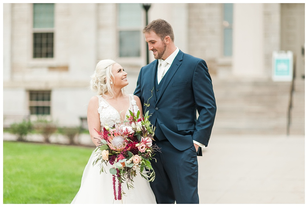 Stephanie Marie Photography Saint Marys Catholic Church Bella Sala Wedding Iowa City Tiffin Wedding Photographer Alex Bobby Telford_0018.jpg