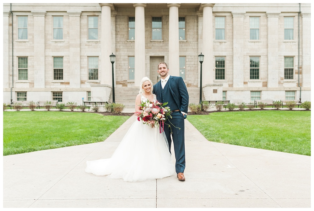 Stephanie Marie Photography Saint Marys Catholic Church Bella Sala Wedding Iowa City Tiffin Wedding Photographer Alex Bobby Telford_0022.jpg