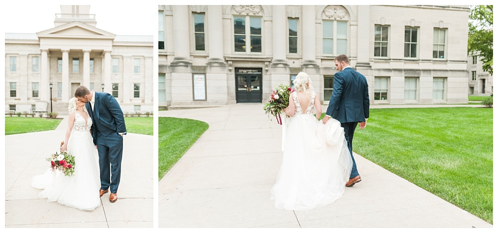 Stephanie Marie Photography Saint Marys Catholic Church Bella Sala Wedding Iowa City Tiffin Wedding Photographer Alex Bobby Telford_0025.jpg