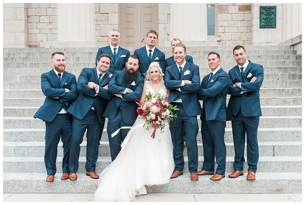 Stephanie Marie Photography Saint Marys Catholic Church Bella Sala Wedding Iowa City Tiffin Wedding Photographer Alex Bobby Telford_0032.jpg