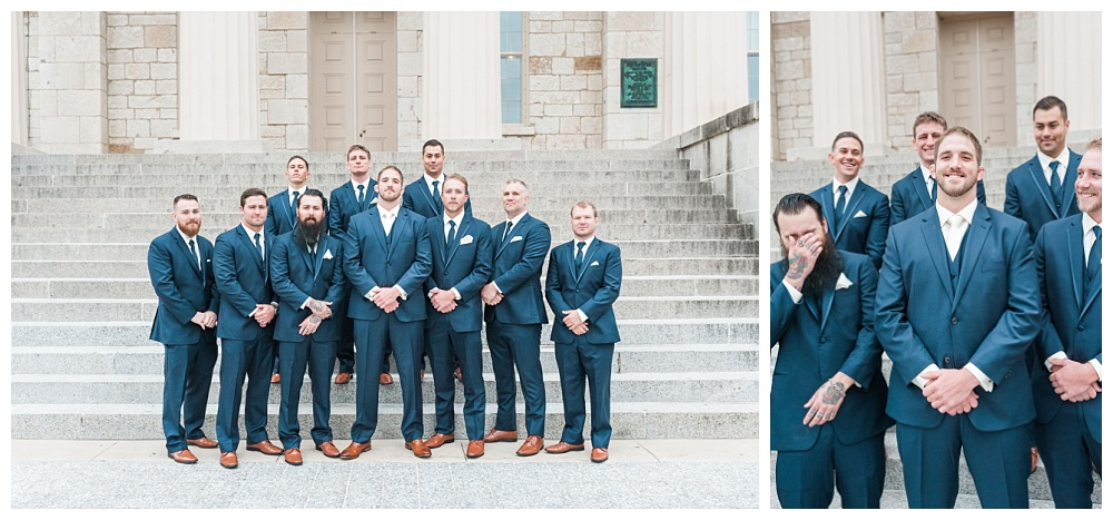 Stephanie Marie Photography Saint Marys Catholic Church Bella Sala Wedding Iowa City Tiffin Wedding Photographer Alex Bobby Telford_0033.jpg