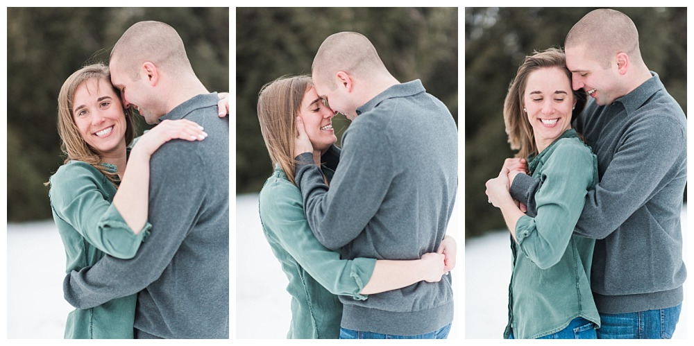 Stephanie Marie Photography Winter Engagement Session Iowa City Wedding Photographer Chelsey Justin_0002.jpg