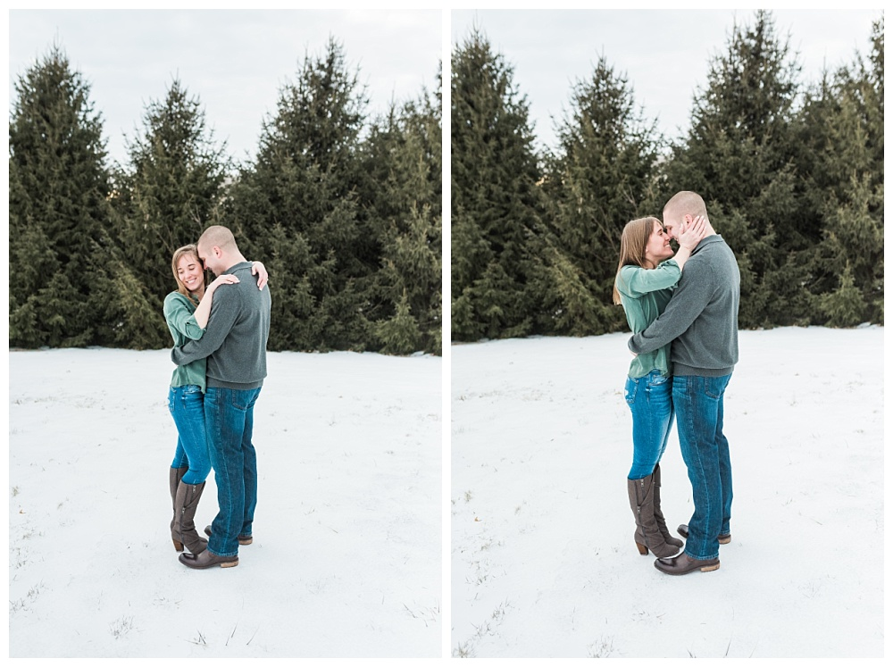 Stephanie Marie Photography Winter Engagement Session Iowa City Wedding Photographer Chelsey Justin_0003.jpg