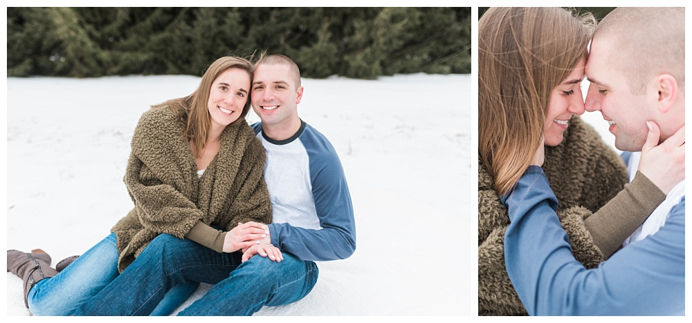 Stephanie Marie Photography Winter Engagement Session Iowa City Wedding Photographer Chelsey Justin_0006.jpg