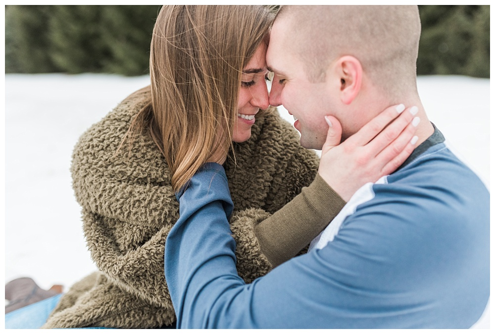 Stephanie Marie Photography Winter Engagement Session Iowa City Wedding Photographer Chelsey Justin_0007.jpg