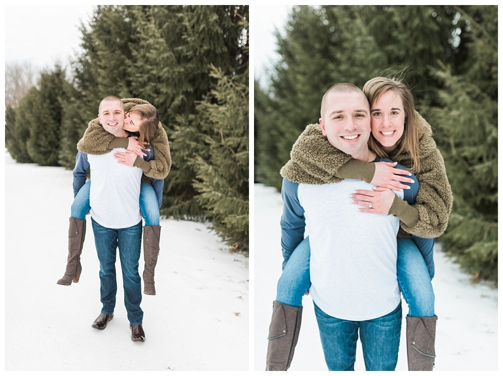 Stephanie Marie Photography Winter Engagement Session Iowa City Wedding Photographer Chelsey Justin_0008.jpg