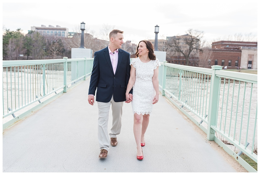 Stephanie Marie Photography IMU Building Engagement Session Iowa City Wedding Photographer Jen Nick_0001.jpg