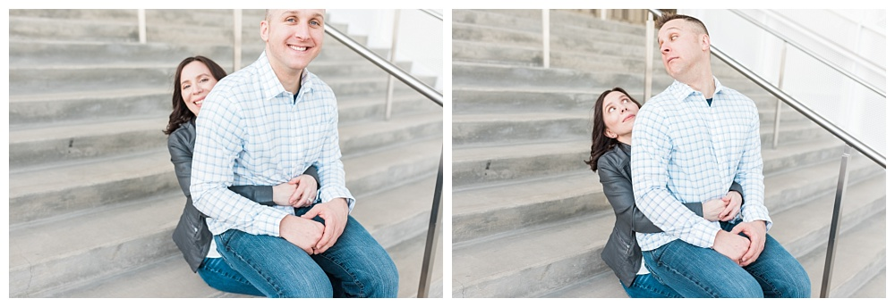 Stephanie Marie Photography IMU Building Engagement Session Iowa City Wedding Photographer Jen Nick_0006.jpg