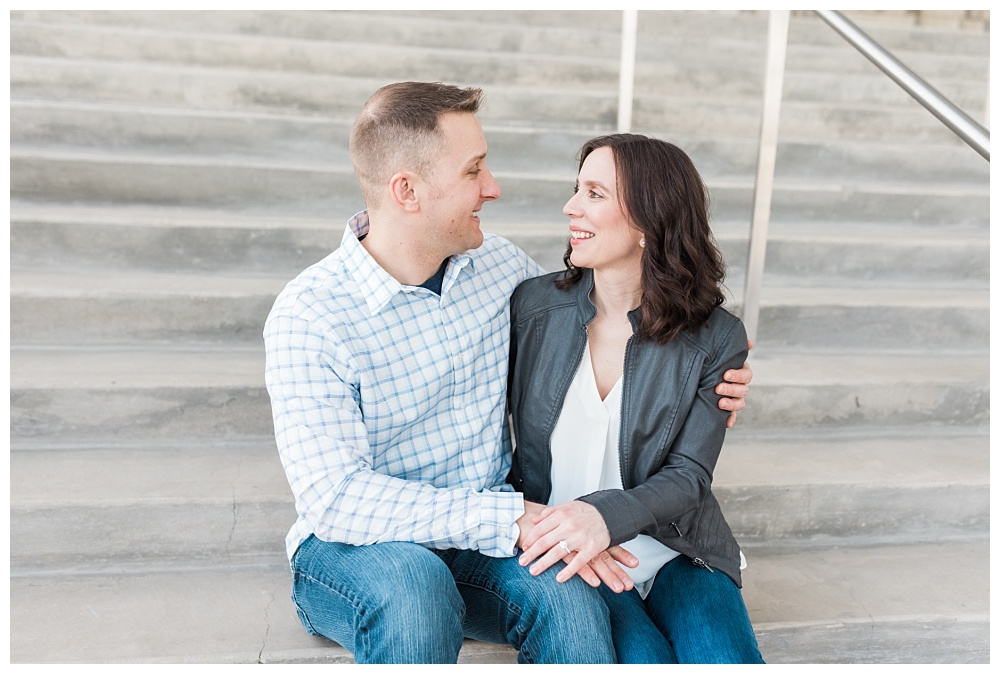 Stephanie Marie Photography IMU Building Engagement Session Iowa City Wedding Photographer Jen Nick_0007.jpg