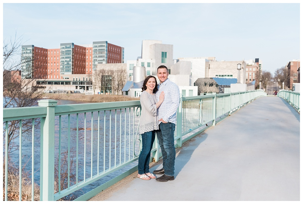 Stephanie Marie Photography IMU Building Engagement Session Iowa City Wedding Photographer Jen Nick_0012.jpg