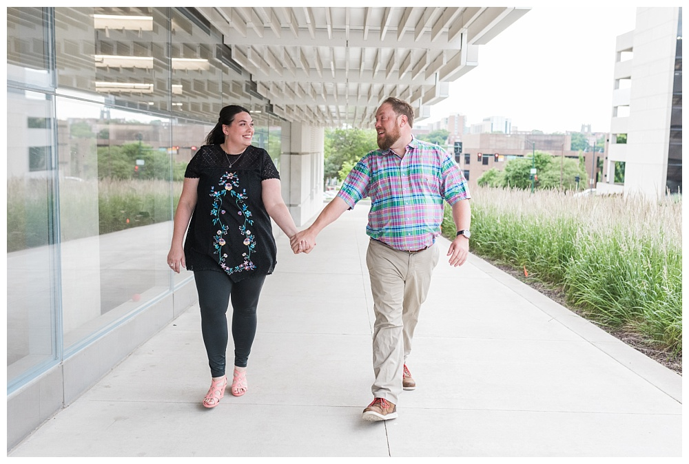 Stephanie Marie Photography Downtown University Engagement Session Iowa City Wedding Photographer Jenny Jim_0004.jpg