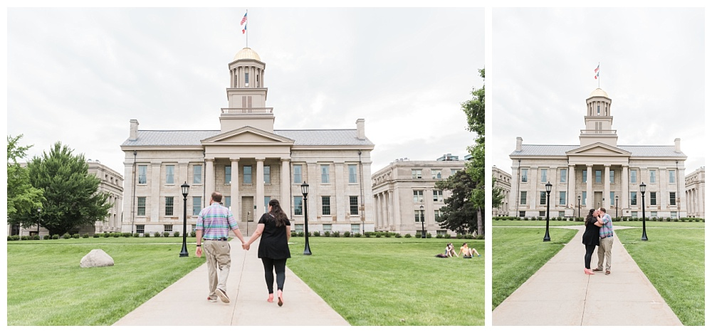 Stephanie Marie Photography Downtown University Engagement Session Iowa City Wedding Photographer Jenny Jim_0005.jpg