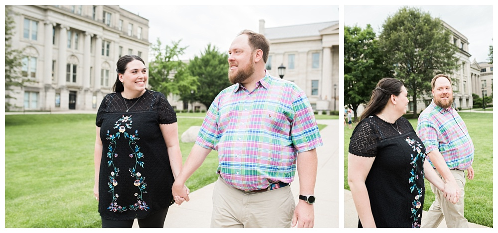 Stephanie Marie Photography Downtown University Engagement Session Iowa City Wedding Photographer Jenny Jim_0007.jpg