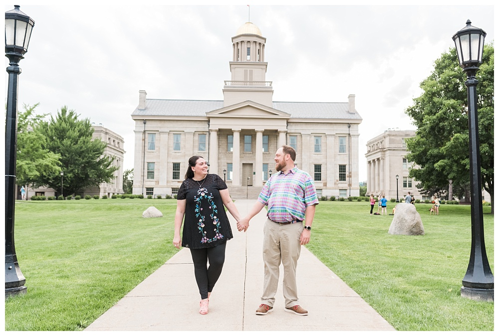 Stephanie Marie Photography Downtown University Engagement Session Iowa City Wedding Photographer Jenny Jim_0008.jpg