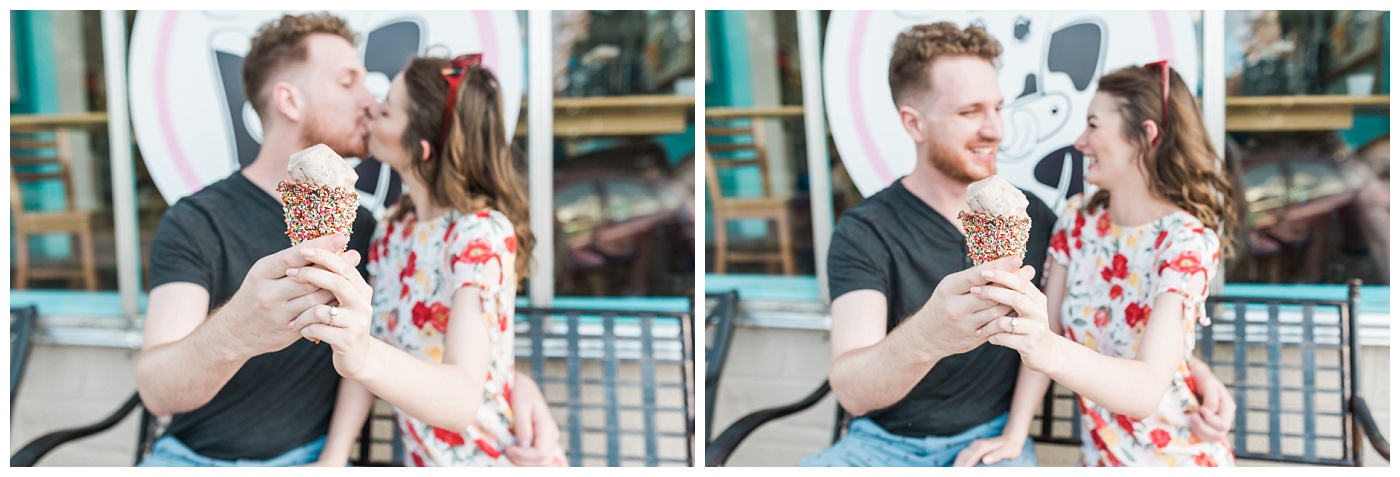 Stephanie Marie Photography Labor for Love Downtown North Liberty Engagement Session Iowa City Wedding Photographer Devin Cody_0004.jpg