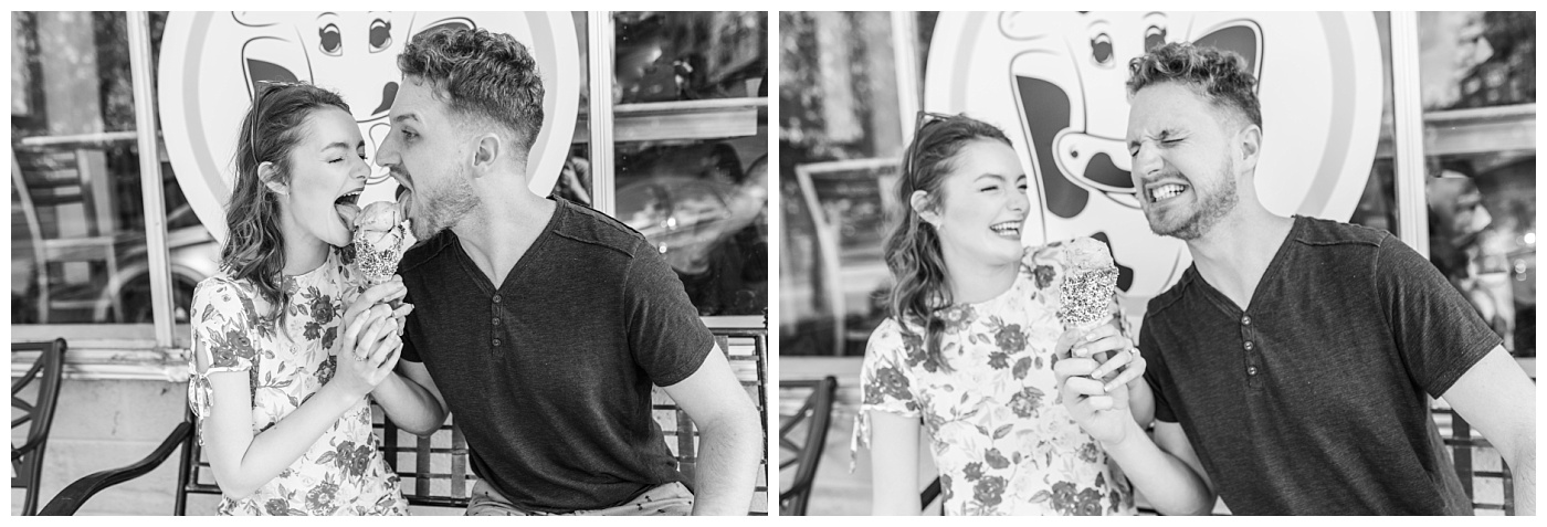 Stephanie Marie Photography Labor for Love Downtown North Liberty Engagement Session Iowa City Wedding Photographer Devin Cody_0006.jpg