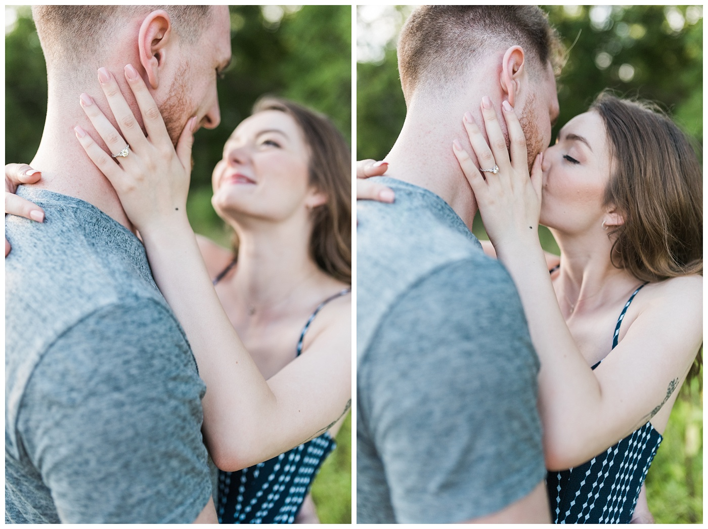 Stephanie Marie Photography Labor for Love Downtown North Liberty Engagement Session Iowa City Wedding Photographer Devin Cody_0012.jpg