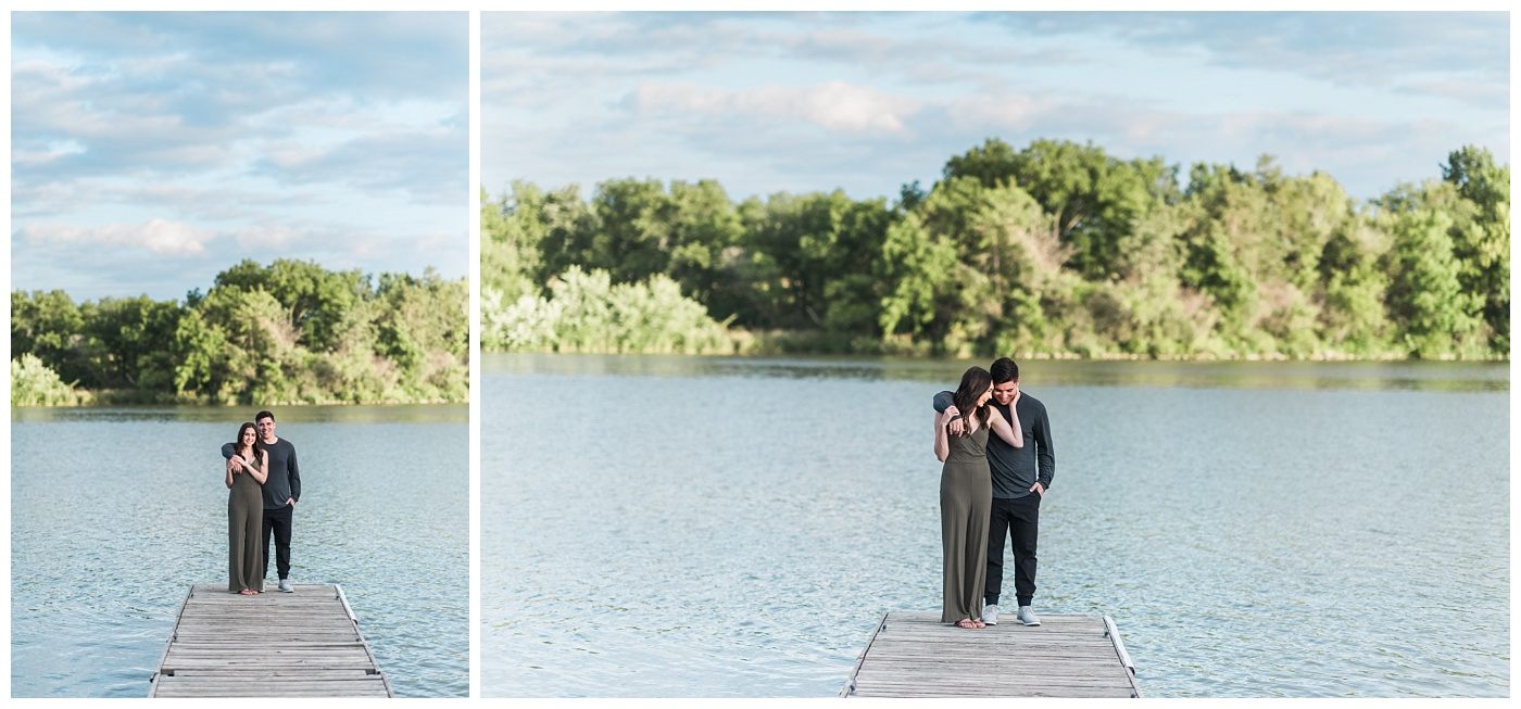 Stephanie Marie Photography Lake McBride Dockside Engagement Session Iowa City Wedding Photographer Madison Sean_0021.jpg