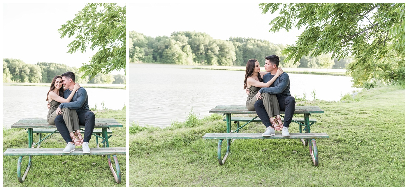 Stephanie Marie Photography Lake McBride Dockside Engagement Session Iowa City Wedding Photographer Madison Sean_0024.jpg