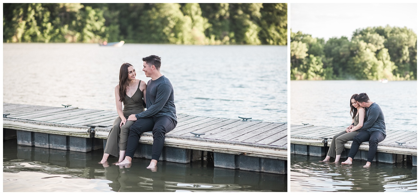 Stephanie Marie Photography Lake McBride Dockside Engagement Session Iowa City Wedding Photographer Madison Sean_0026.jpg
