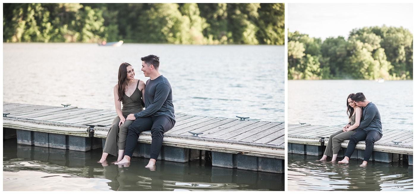 Stephanie Marie Photography Lake McBride Dockside Engagement Session Iowa City Wedding Photographer Madison Sean_0026.jpg