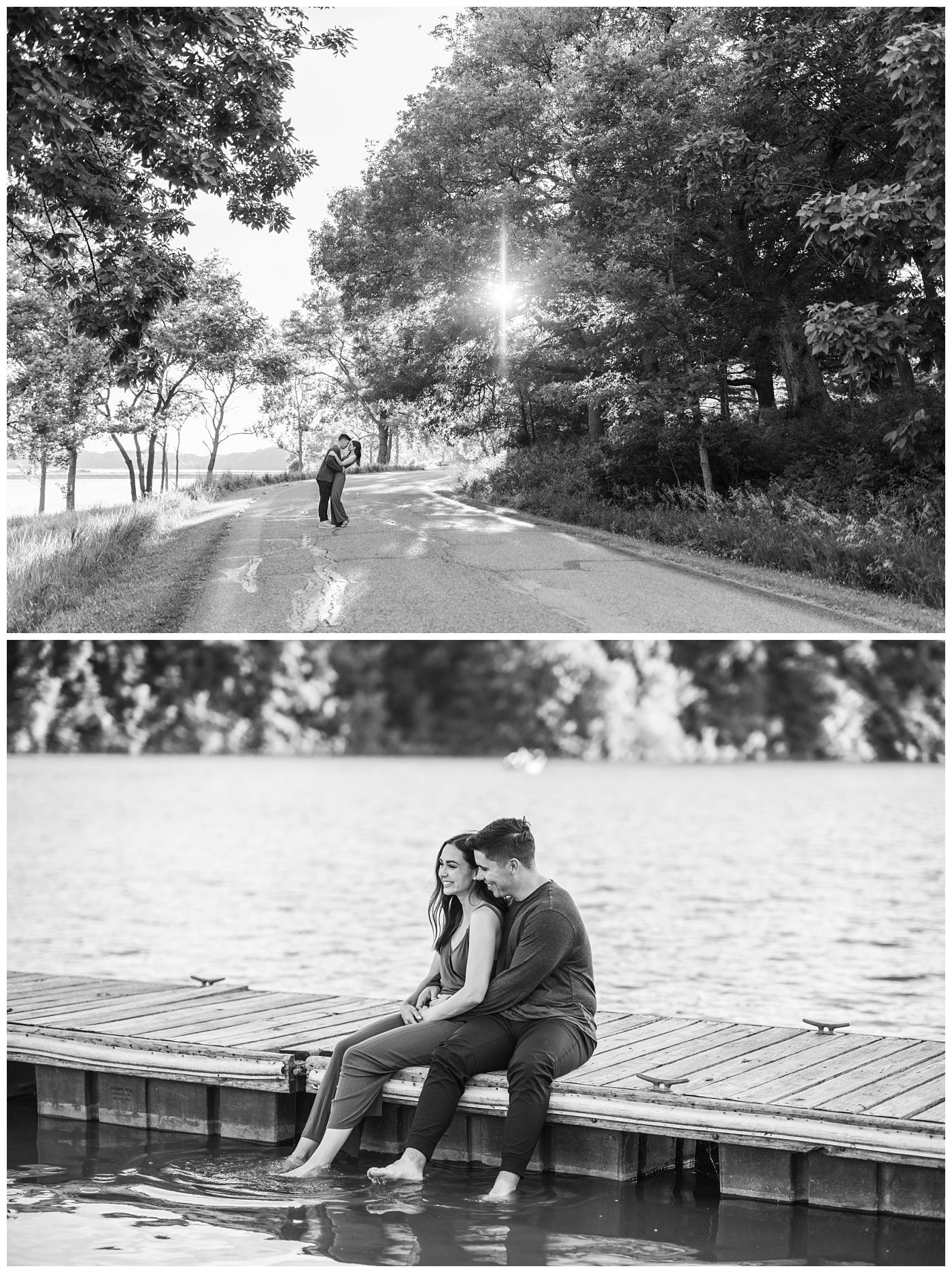 Stephanie Marie Photography Lake McBride Dockside Engagement Session Iowa City Wedding Photographer Madison Sean_0029.jpg
