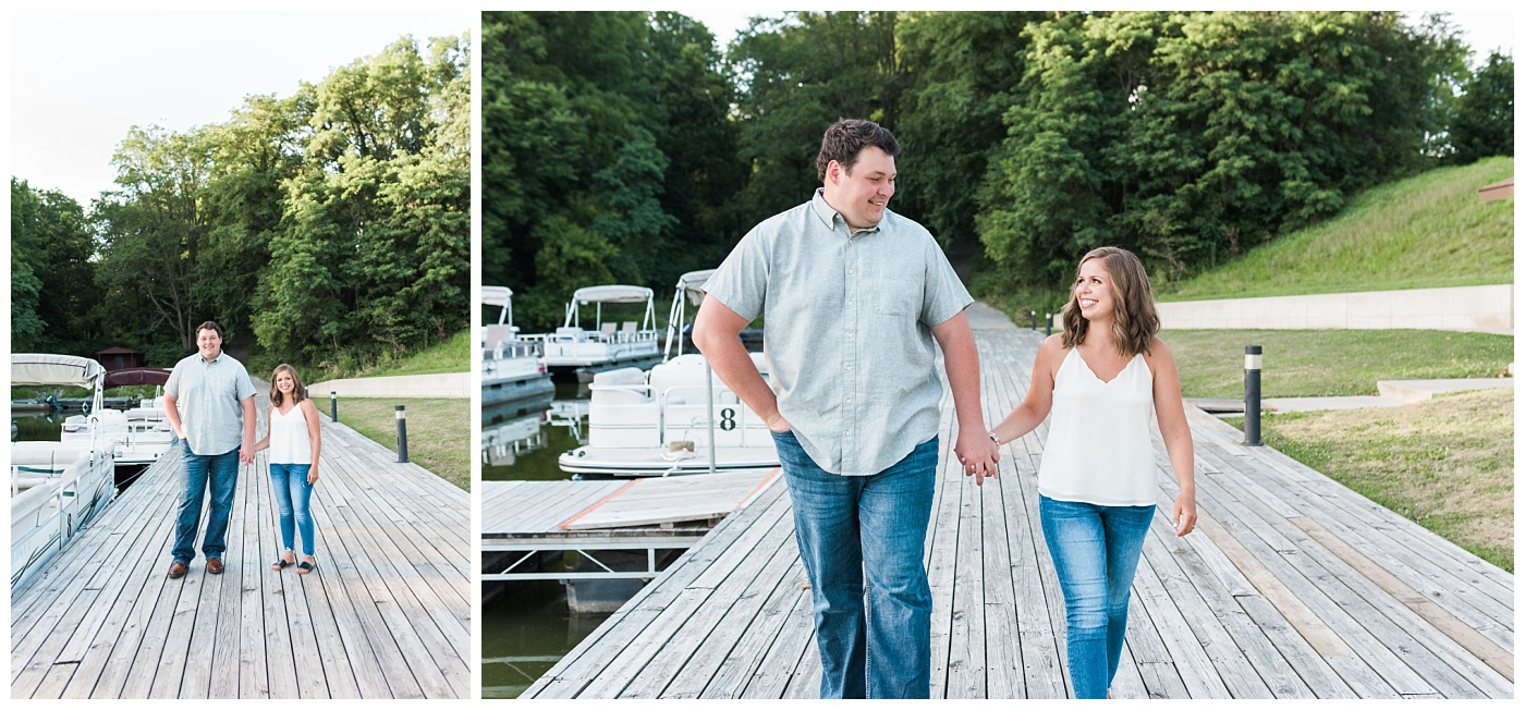 Stephanie Marie Photography Lake McBride Engagement Session Dubuque Iowa City Wedding Photographer Morgan Lucas_0004-1.jpg