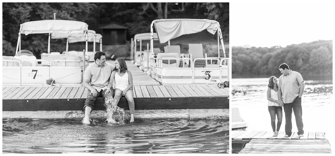 Stephanie Marie Photography Lake McBride Engagement Session Dubuque Iowa City Wedding Photographer Morgan Lucas_0008-1.jpg
