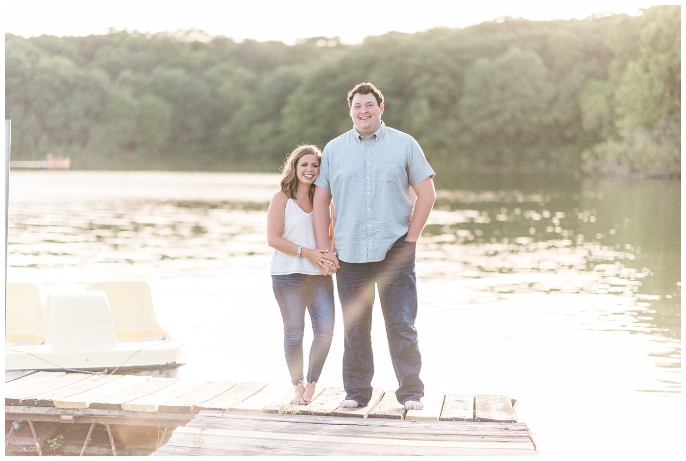 Stephanie Marie Photography Lake McBride Engagement Session Dubuque Iowa City Wedding Photographer Morgan Lucas_0009-1.jpg