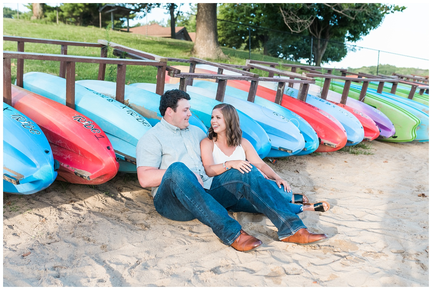 Stephanie Marie Photography Lake McBride Engagement Session Dubuque Iowa City Wedding Photographer Morgan Lucas_0010-1.jpg
